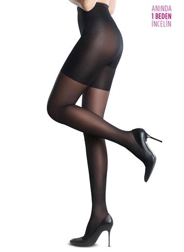 Penti Kadın Body Form  Külotlu Çorap 5000063629x Siyah